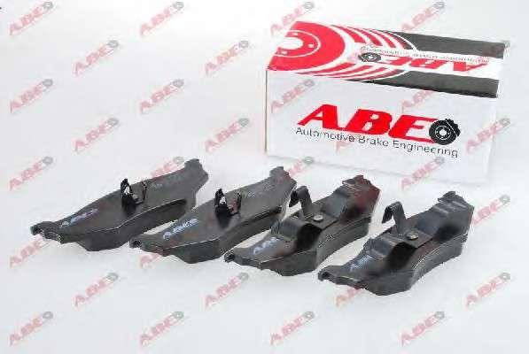 ABE C2Y000ABE Комплект тормозных колодок, дисковый тормоз