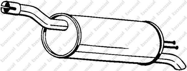BOSAL 148-351 Глушитель выхлопных газов конечный