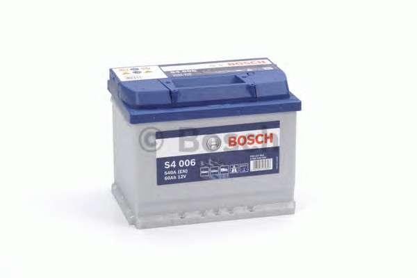 BOSCH 0 092 S40 060 Стартерная аккумуляторная батарея; Стартерная аккумуляторная батарея