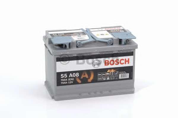BOSCH 0 092 S5A 080 Стартерная аккумуляторная батарея; Стартерная аккумуляторная батарея