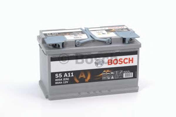 BOSCH 0 092 S5A 110 Стартерная аккумуляторная батарея; Стартерная аккумуляторная батарея