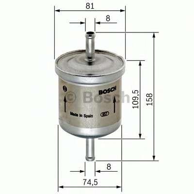 BOSCH 0 450 905 030 Топливный фильтр
