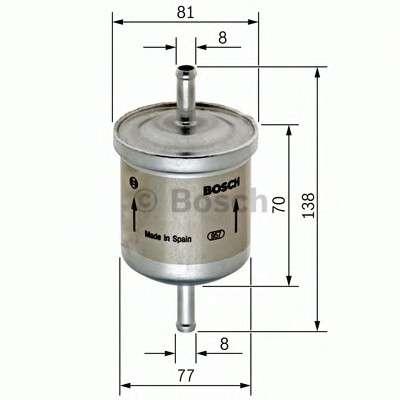BOSCH 0 450 905 324 Топливный фильтр