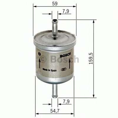 BOSCH 0 450 905 969 Топливный фильтр
