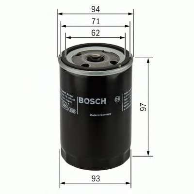 BOSCH 0 451 103 029 Масляный фильтр