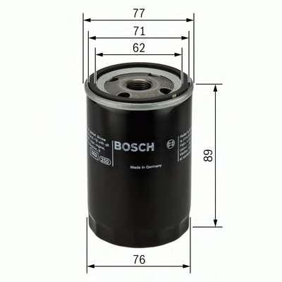 Запчасть 0451103079 bosch Масляный фильтр