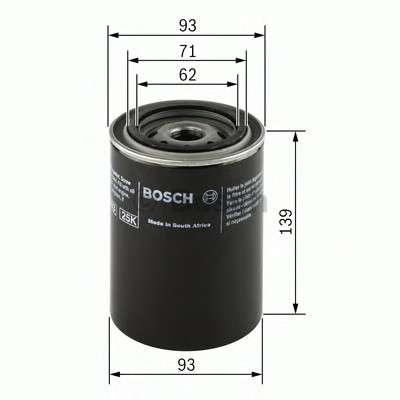 BOSCH 0 451 203 194 Масляный фильтр