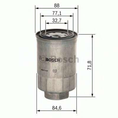 BOSCH 1 457 434 201 Топливный фильтр