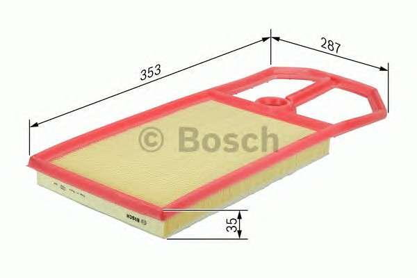 BOSCH F 026 400 148 Воздушный фильтр