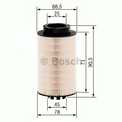 BOSCH F 026 402 062 Топливный фильтр
