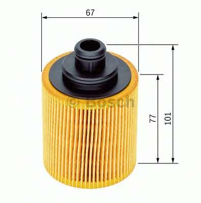 Запчасть f026407067 bosch Масляный фильтр