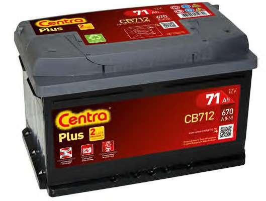 Запчасть cb712 centra Стартерная аккумуляторная батарея; Стартерная аккумуляторная батарея