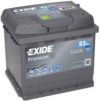 Запчасть ea530 exide Стартерная аккумуляторная батарея; Стартерная аккумуляторная батарея