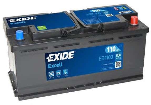 EXIDE EB1100 Стартерная аккумуляторная батарея; Стартерная аккумуляторная батарея