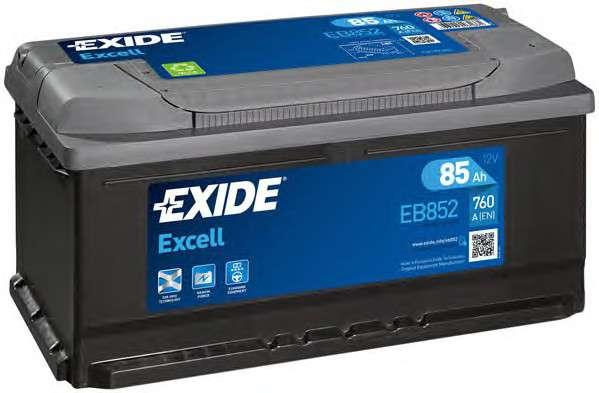 EXIDE _EB852 Стартерная аккумуляторная батарея; Стартерная аккумуляторная батарея