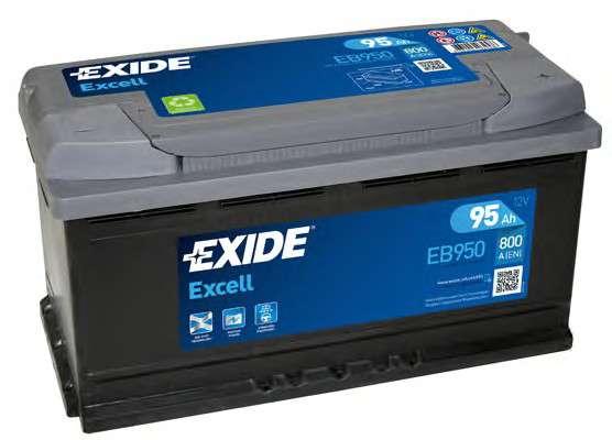 EXIDE EB950 Стартерная аккумуляторная батарея; Стартерная аккумуляторная батарея