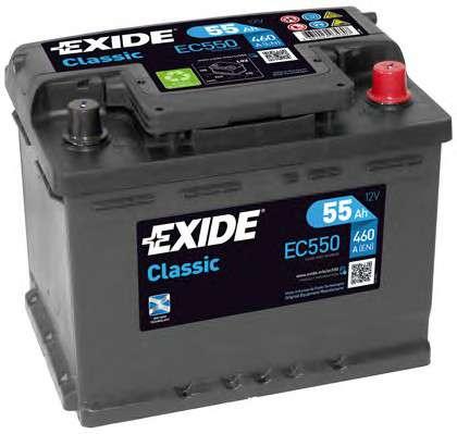 EXIDE EC550 Стартерная аккумуляторная батарея; Стартерная аккумуляторная батарея