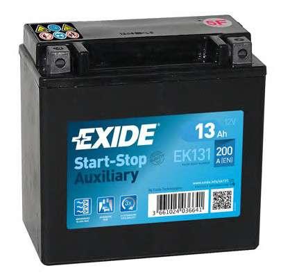 EXIDE EK131 Стартерная аккумуляторная батарея; Стартерная аккумуляторная батарея