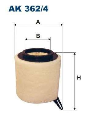 FILTRON AK362/4 Воздушный фильтр