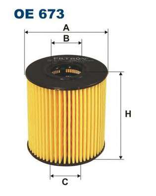 FILTRON OE673 Масляный фильтр