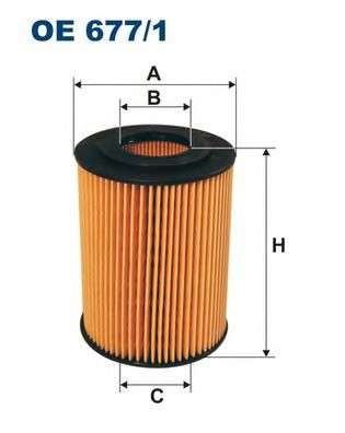 FILTRON OE677/1 Масляный фильтр