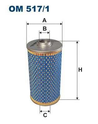 FILTRON OM517/1 Масляный фильтр