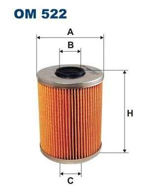 FILTRON OM522 Масляный фильтр