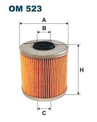 FILTRON OM523 Масляный фильтр