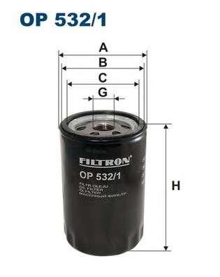 FILTRON OP532/1 Масляный фильтр