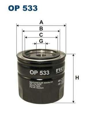 FILTRON OP533 Масляный фильтр