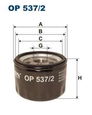 FILTRON OP537/2 Масляный фильтр