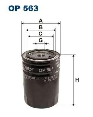 FILTRON OP563 Масляный фильтр