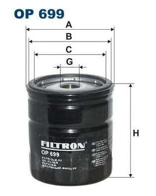 FILTRON OP699 Масляный фильтр