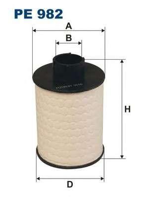 FILTRON PE982 Топливный фильтр