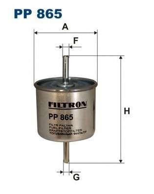 FILTRON PP865 Топливный фильтр