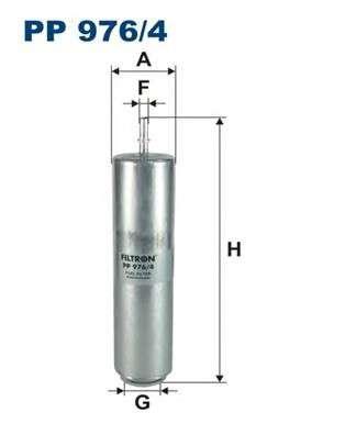 FILTRON PP976/4 Топливный фильтр