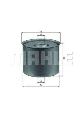 KNECHT KX 23D Топливный фильтр