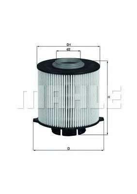 KNECHT KX 265D Топливный фильтр