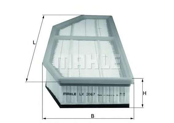 KNECHT LX 2067 Воздушный фильтр