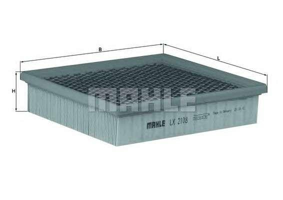 KNECHT LX 2108 Воздушный фильтр