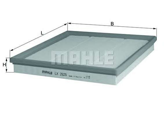 KNECHT LX 2525 Воздушный фильтр