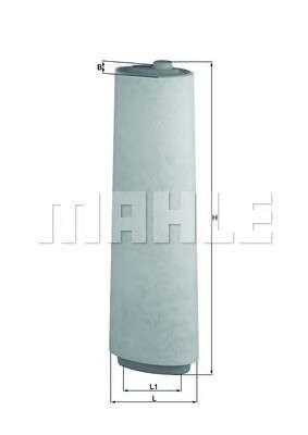 KNECHT LX 818 Воздушный фильтр