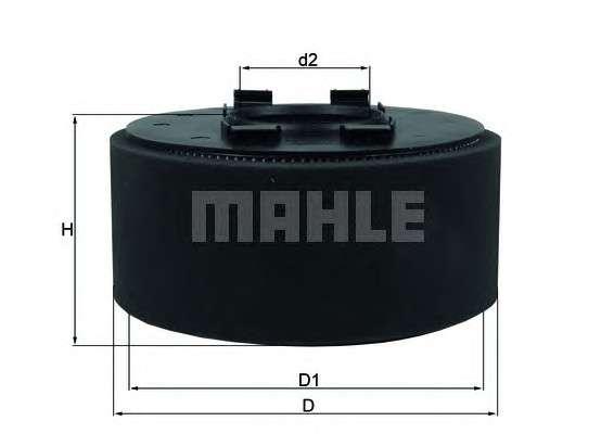 KNECHT LX 870 Воздушный фильтр