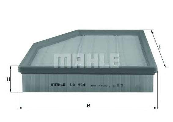 KNECHT LX 944 Воздушный фильтр