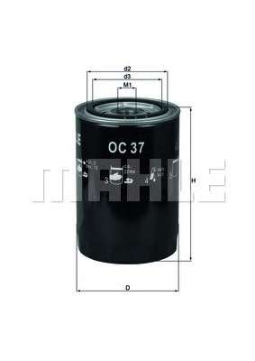 KNECHT OC 37 Масляный фильтр