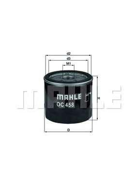 KNECHT OC 458 Масляный фильтр