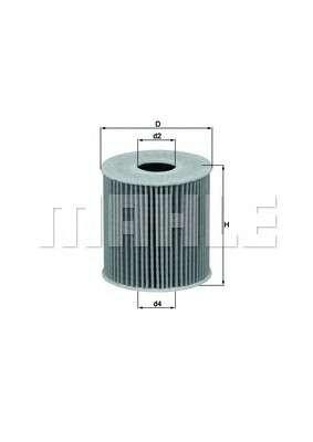 KNECHT OX 339/2D Масляный фильтр