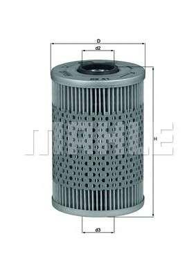 KNECHT OX 41D Масляный фильтр