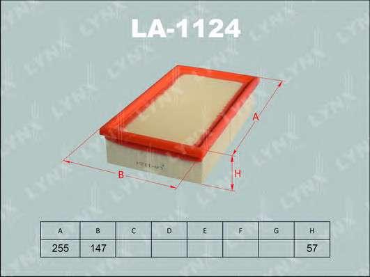 LYNXauto LA-1124 Воздушный фильтр