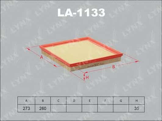 LYNXauto LA-1133 Воздушный фильтр